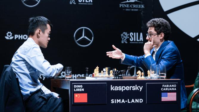 Torneio de Candidatos da FIDE: Ding Dá a Volta Por Cima e Derrota Caruana