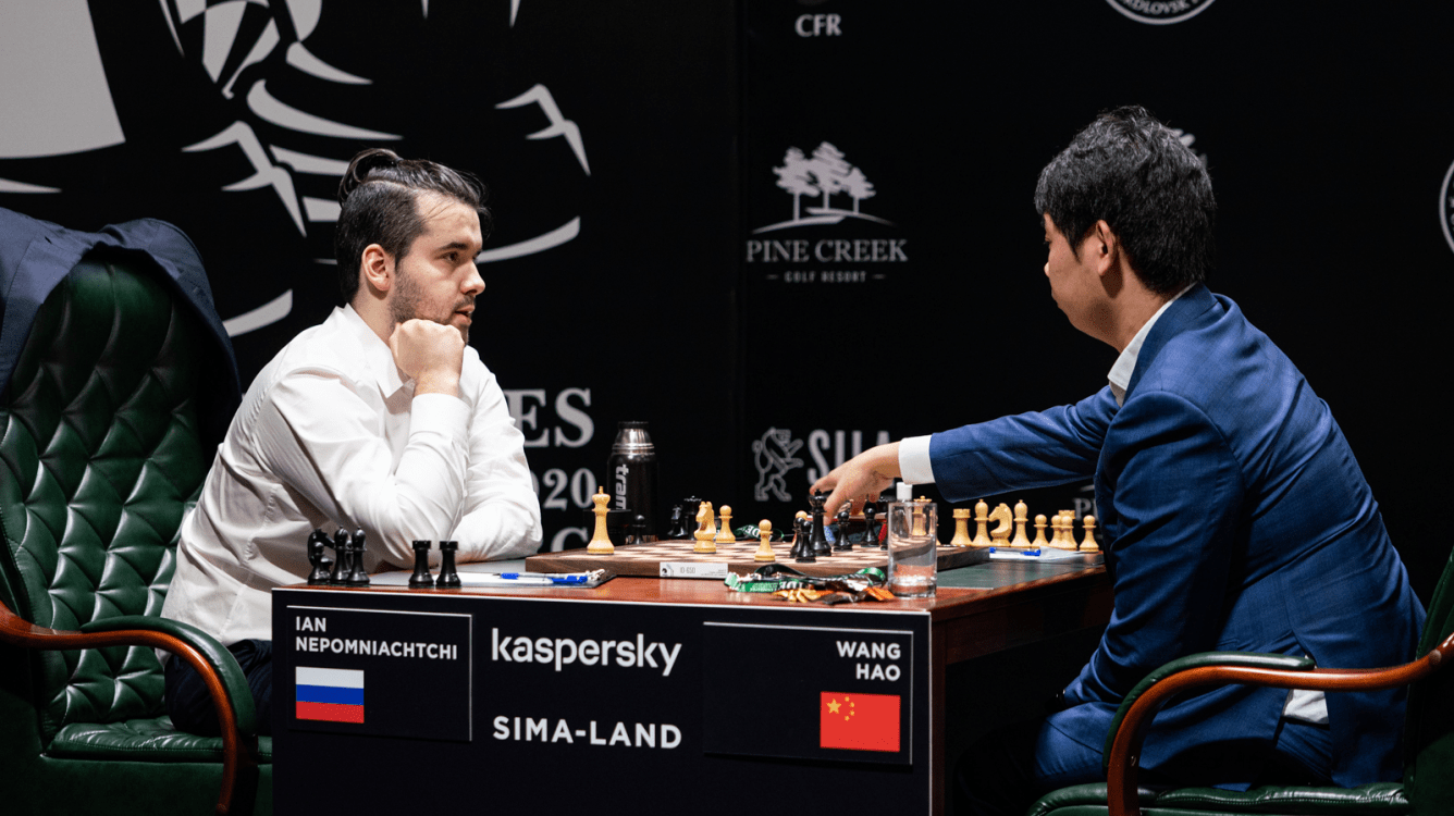Nepomniachtchi Beats Wang Hao, Leads FIDE Candidates Tournament