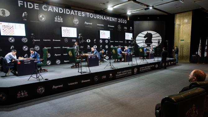 EILMELDUNG: FIDE Kandidatenturnier abgebrochen