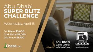 Nakamura, MVL, Caruana Confirmed For Abu Dhabi Super Blitz Challenge On April 15