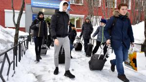 French Chess Players Return Home After Quarantine In Murmansk