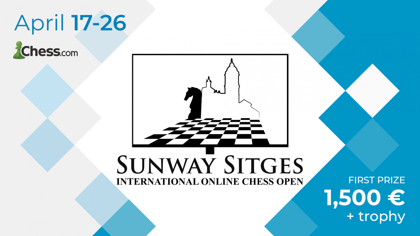 Llega el I Torneo de Ajedrez Online Sunway Sitges