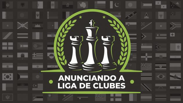 Anunciamos a Liga Oficial de Clubes do Chess.com