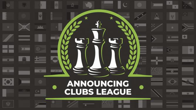 Ankündigung der offiziellen Mannschaftskämpfe auf Chess.com