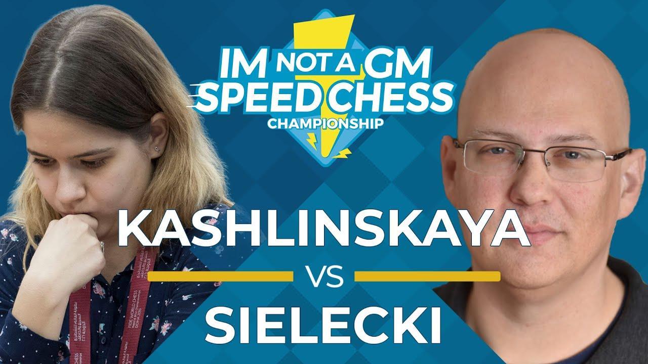 Kashlinskaya Beats Sielecki In Thrilling IM Not A GM Match