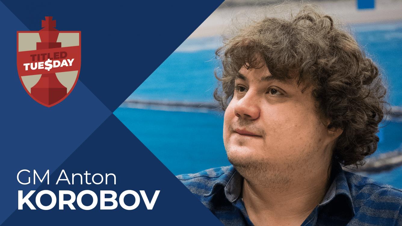 Korobov Wins April's Final Titled Tuesday