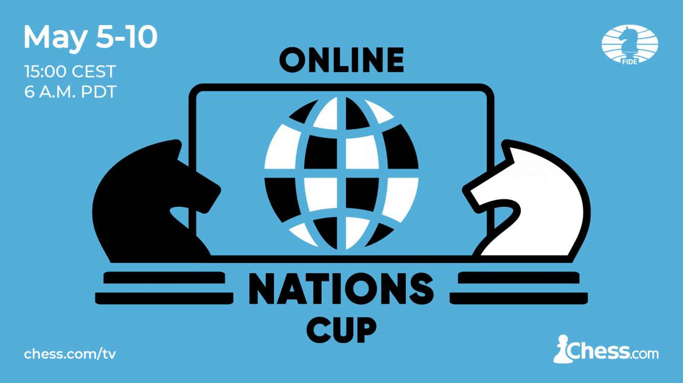 Gran expectación por la FIDE Chess.com Online Nations Cup