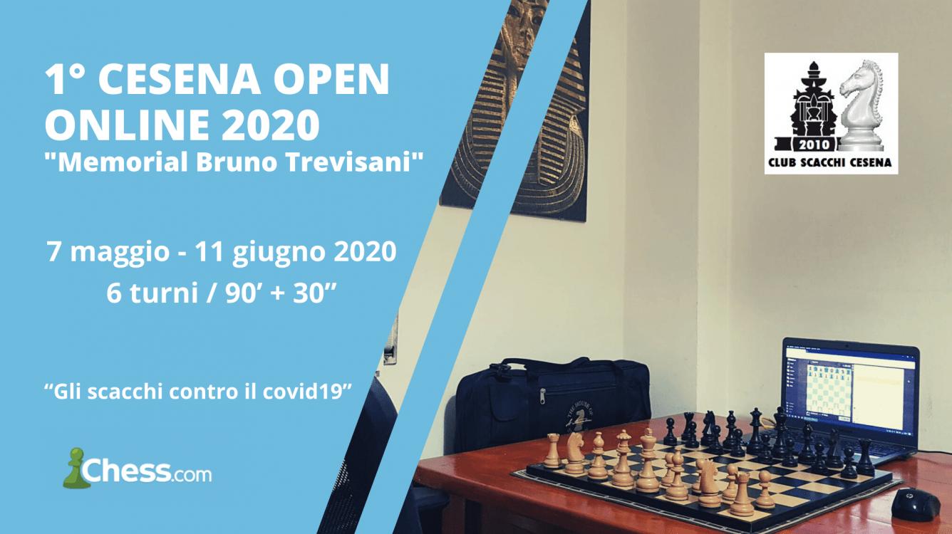 "1° Cesena Open Online 2020 - ""Memorial Bruno Trevisani"" (Risultati)"