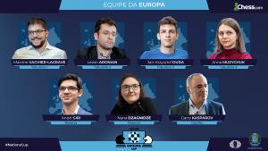 Europa Está a Dois Pontos da China Após o Terceiro Dia da Online Nations Cup da FIDE e Chess.com