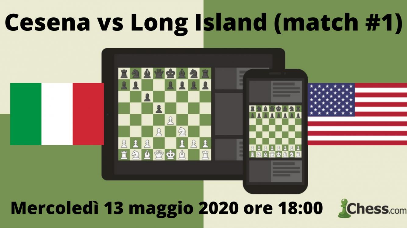 Cesena vs Long Island match #1