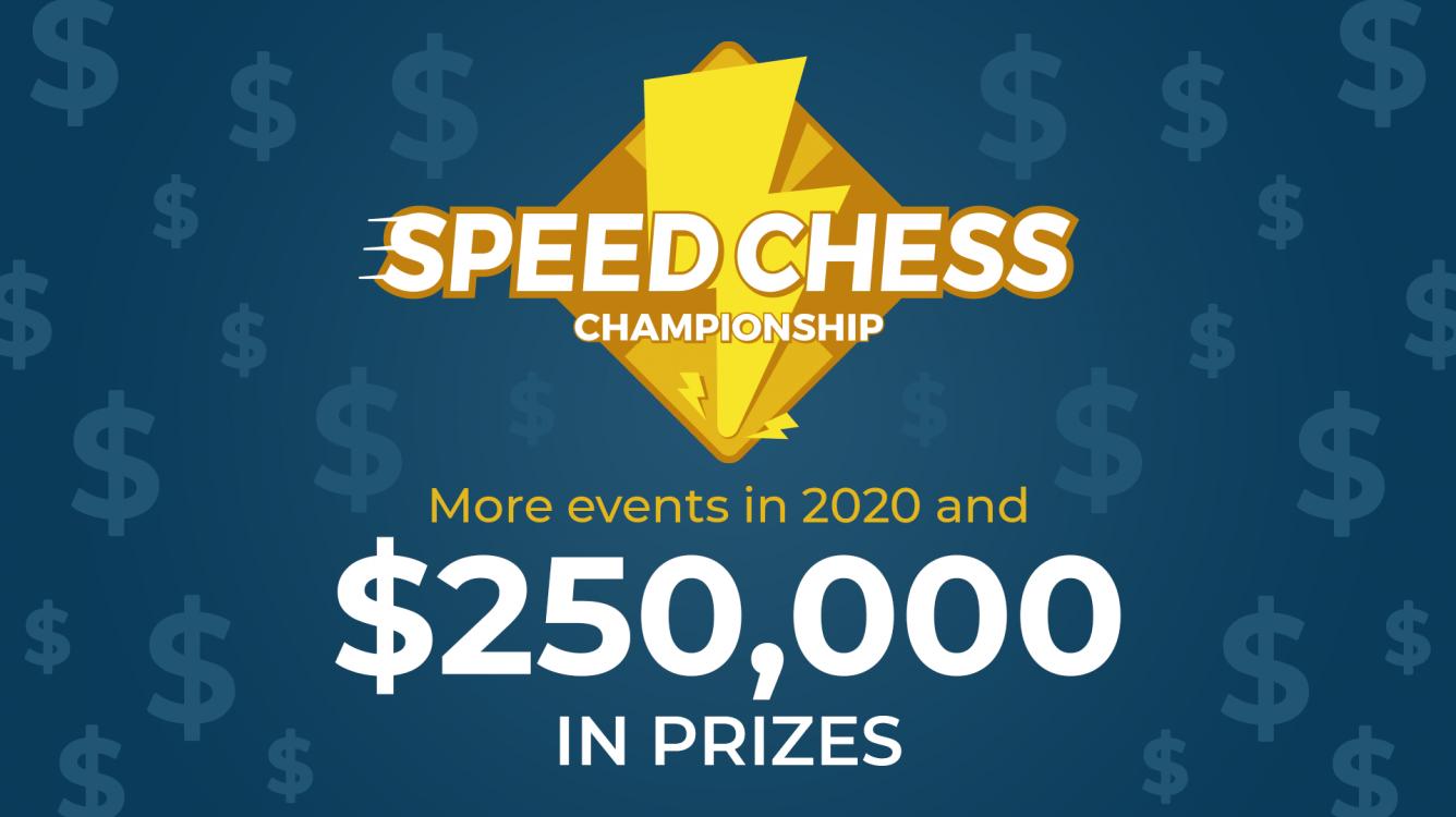 El Speed Chess Championship tendrá 250.000$ en premios