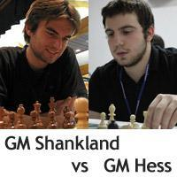 Hess and Shankland to Clash!