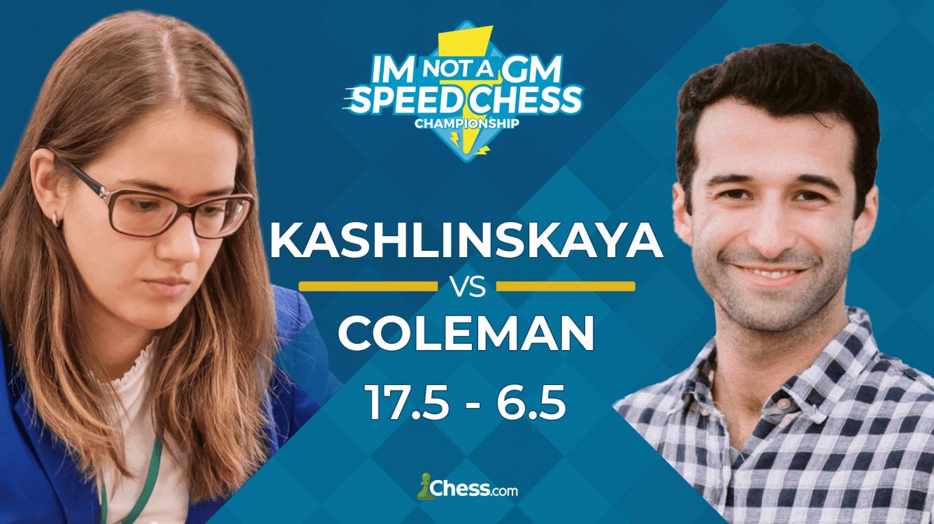Kashlinskaya Defeats Coleman, Reaches IM Not A GM Final