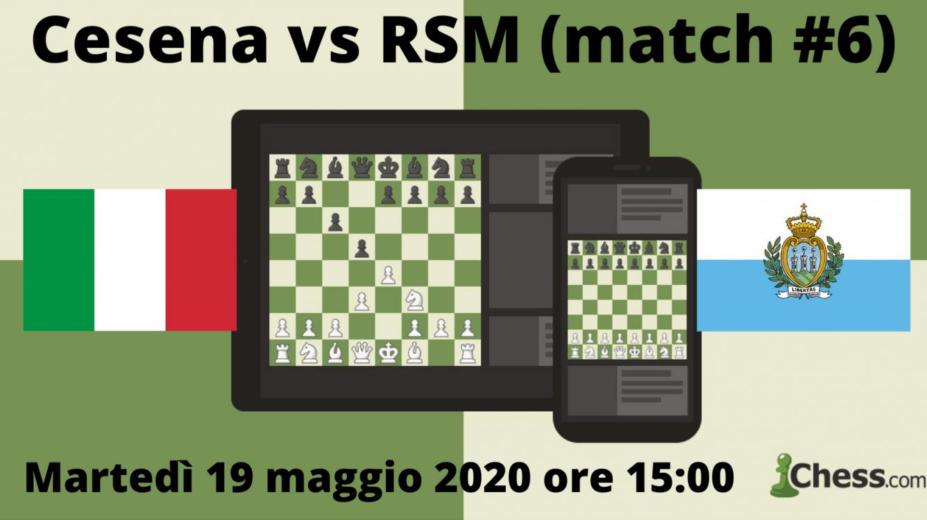 Cesena vs RSM match #6