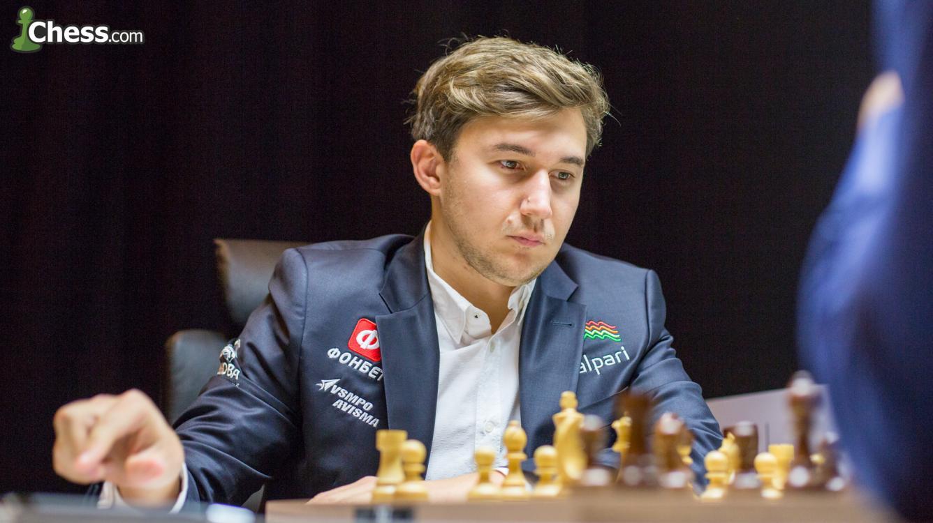 Сергей Карякин лидирует на турнире Аббатства Линдорс