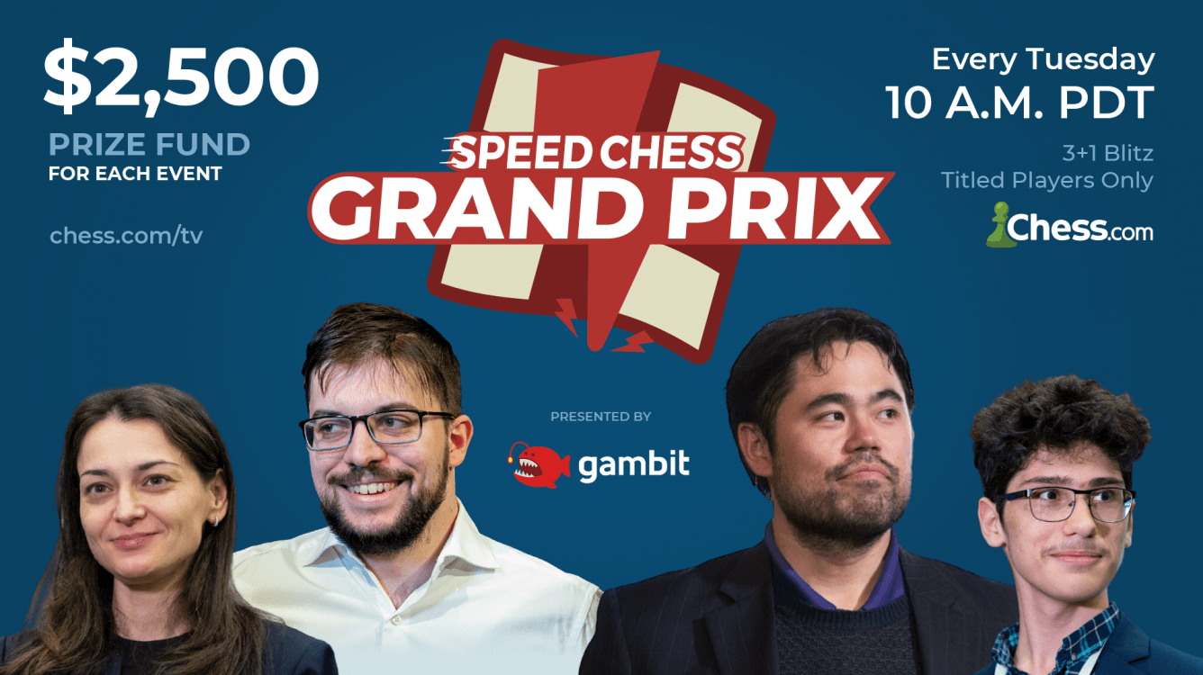 Today: Speed Chess Championship Grand Prix