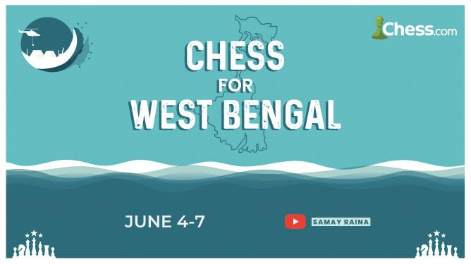 Chess For Charity: Chess for West Bengal, India