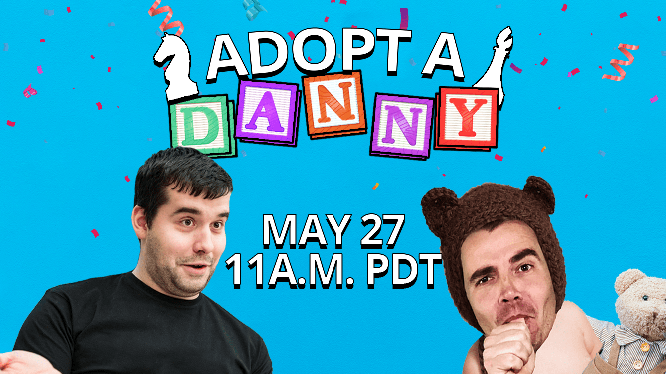 Adopt-A-Danny Returns Wednesday With Ian Nepomniachtchi