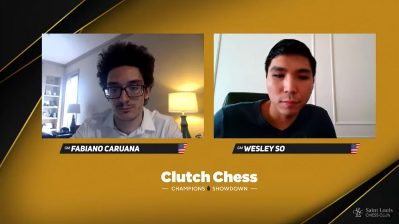 So domine Caruana en finale du Clutch Chess