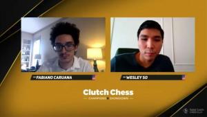 So pokonuje Caruanę i wygrywa Clutch Chess