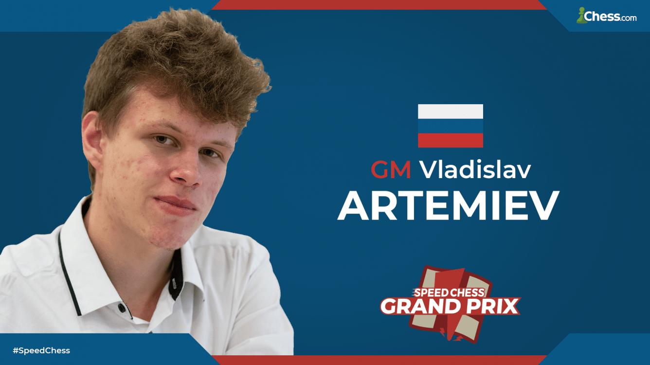 Artemiev Wins 1st Speed Chess Championship Grand Prix