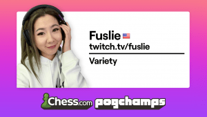 Chess.com PogChamps: Fuslie, Voyboy, and Hutch Star With Wins On Opening Day