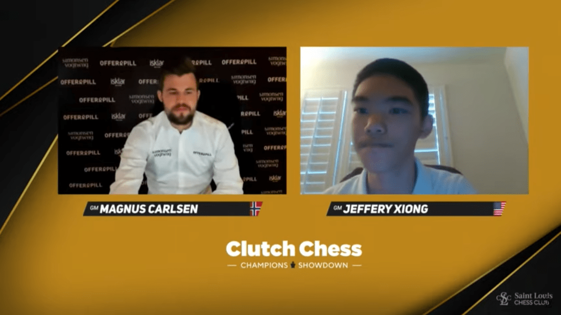 Carlsen, So Lead Clutch Chess Matches