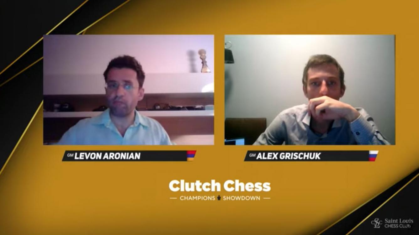 Aronian, Caruana Reach Clutch Chess Semifinals