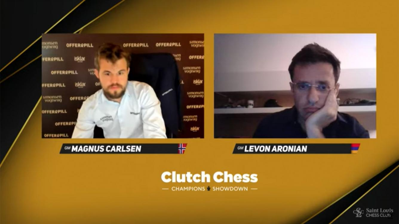 Carlsen, So Dominate In Identical Clutch Matches