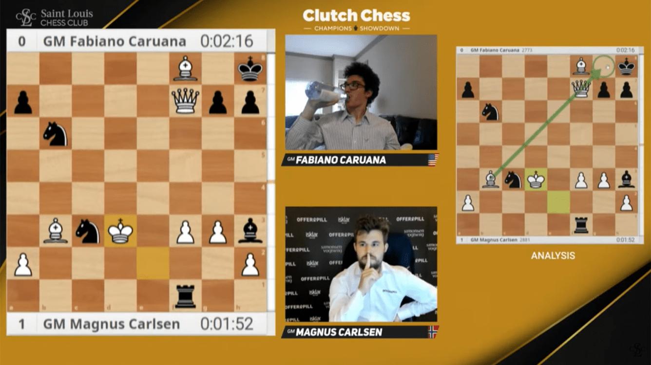 "Carlsen gana el Clutch Chess International ""in extremis"""