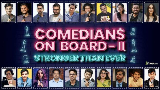 Comedians On Board, Part 2