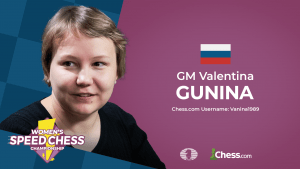 Gunina Wins Women's Speed Chess GP Leg 2 Final