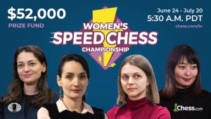 Hou, Lagno To Final: Women's Speed Chess Championship Grand Prix Leg 3 SF Results