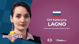 Lagno gana el tercer GP del Speed Chess Femenino