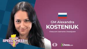 Kosteniuk gana el cuarto GP del Speed Chess Femenino