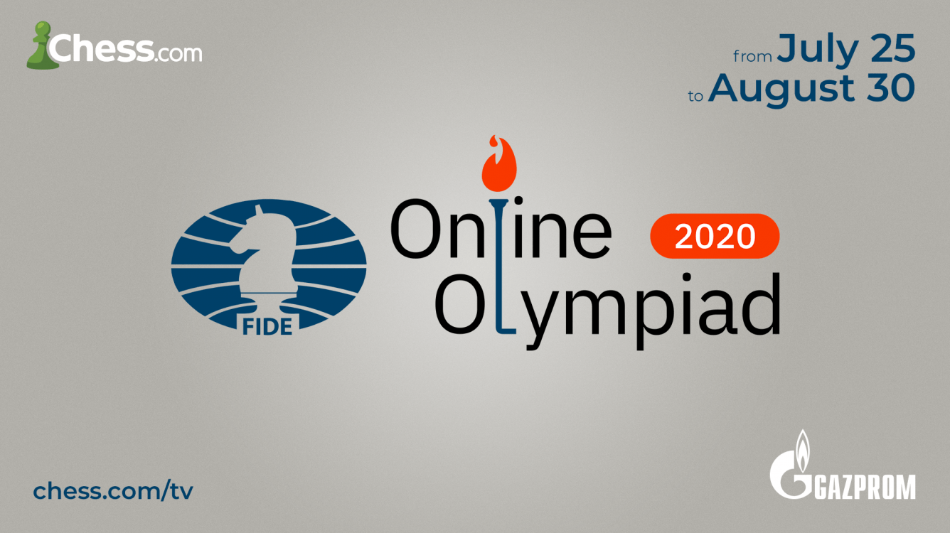 FIDE Online Olympiad Launches July 25 On Chess.com