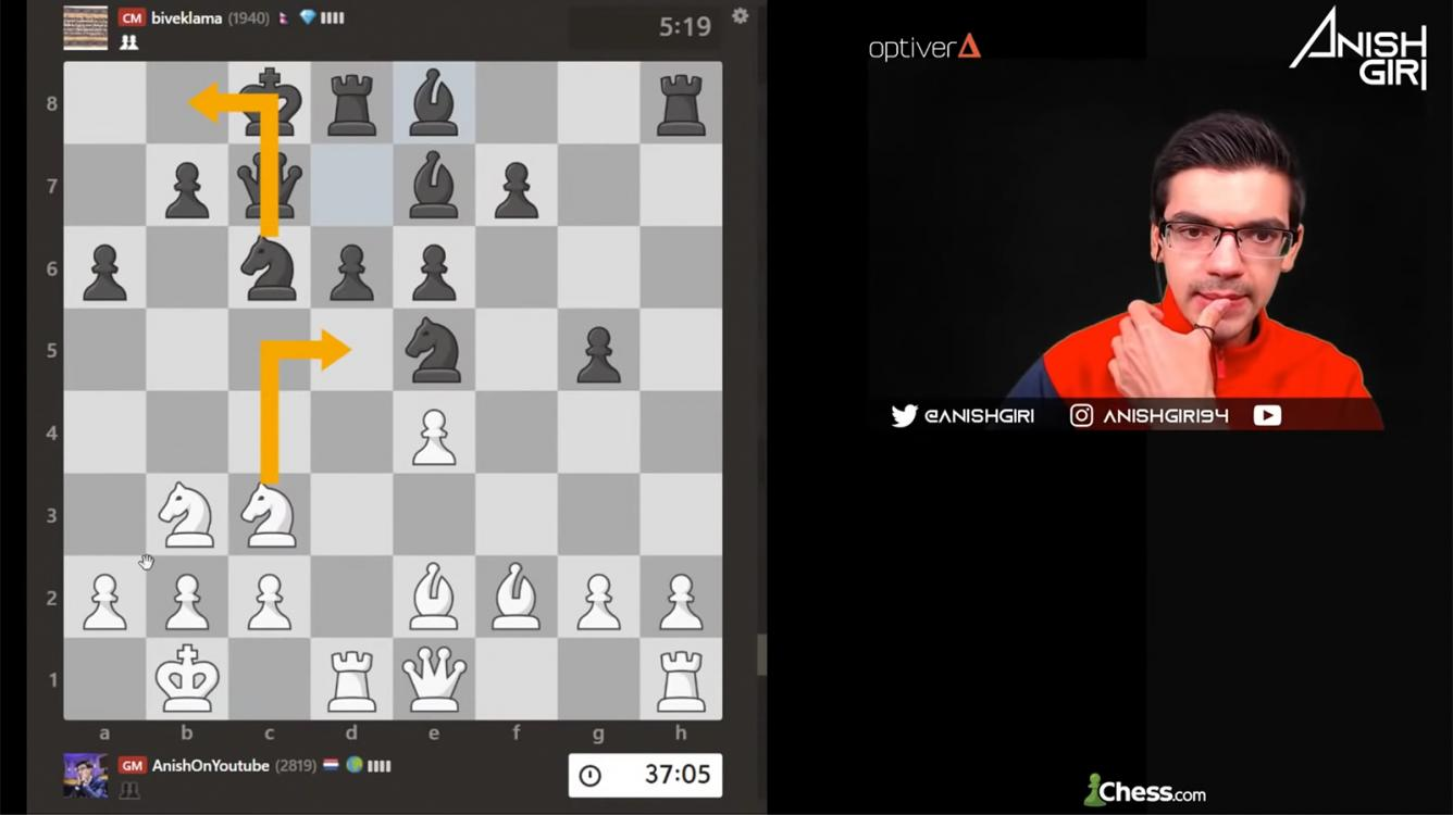 Giri Plays Nepal's Top Players In Chess.com Simul