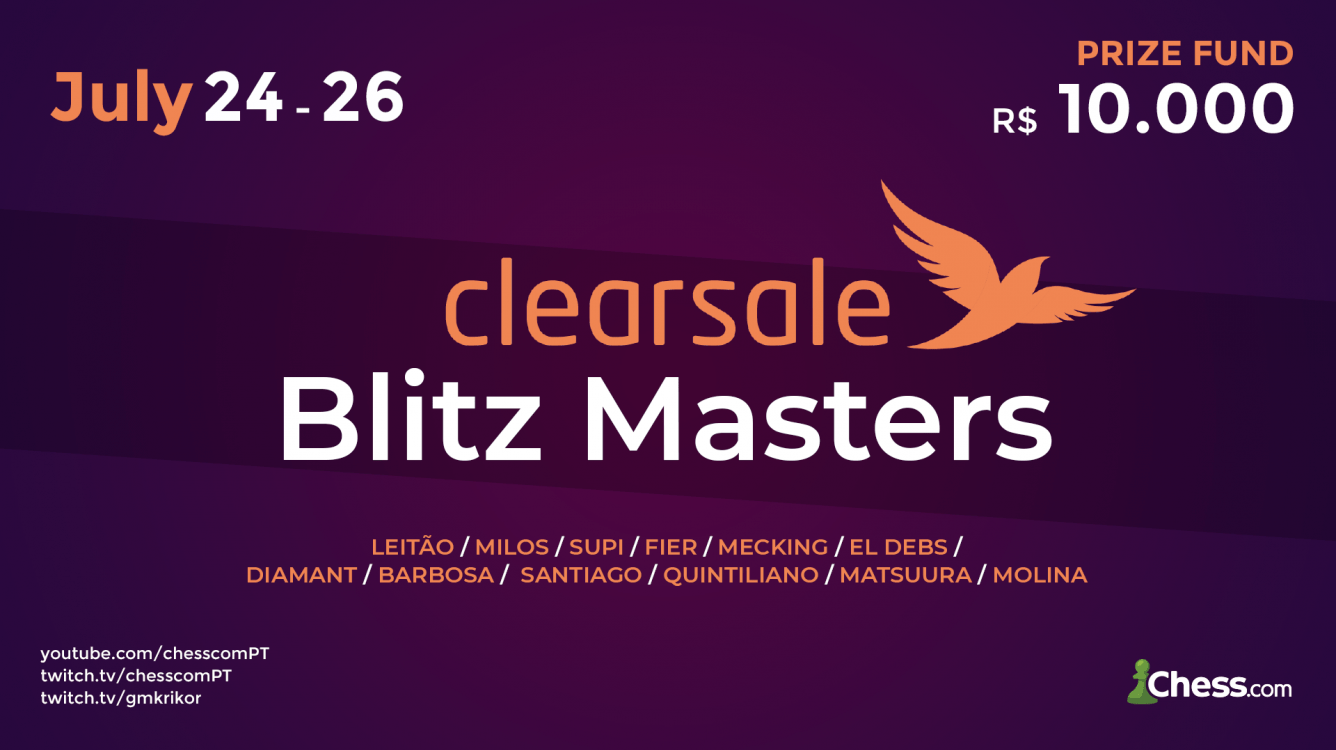 ClearSale Blitz Masters on Chess.com!