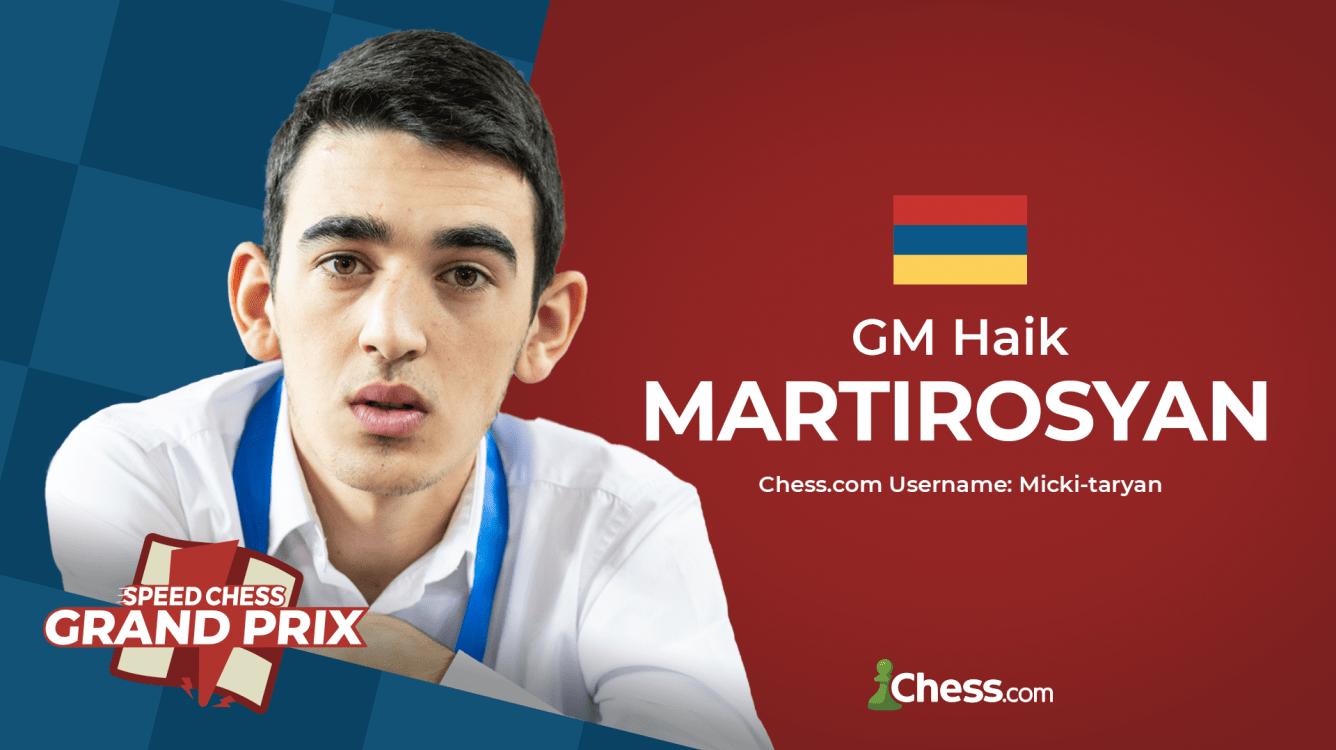 Martirosyan Wins 8th Speed Chess Grand Prix