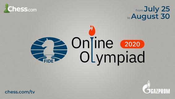 Die FIDE Online Olympiade beginnt am 25. Juli auf Chess.com