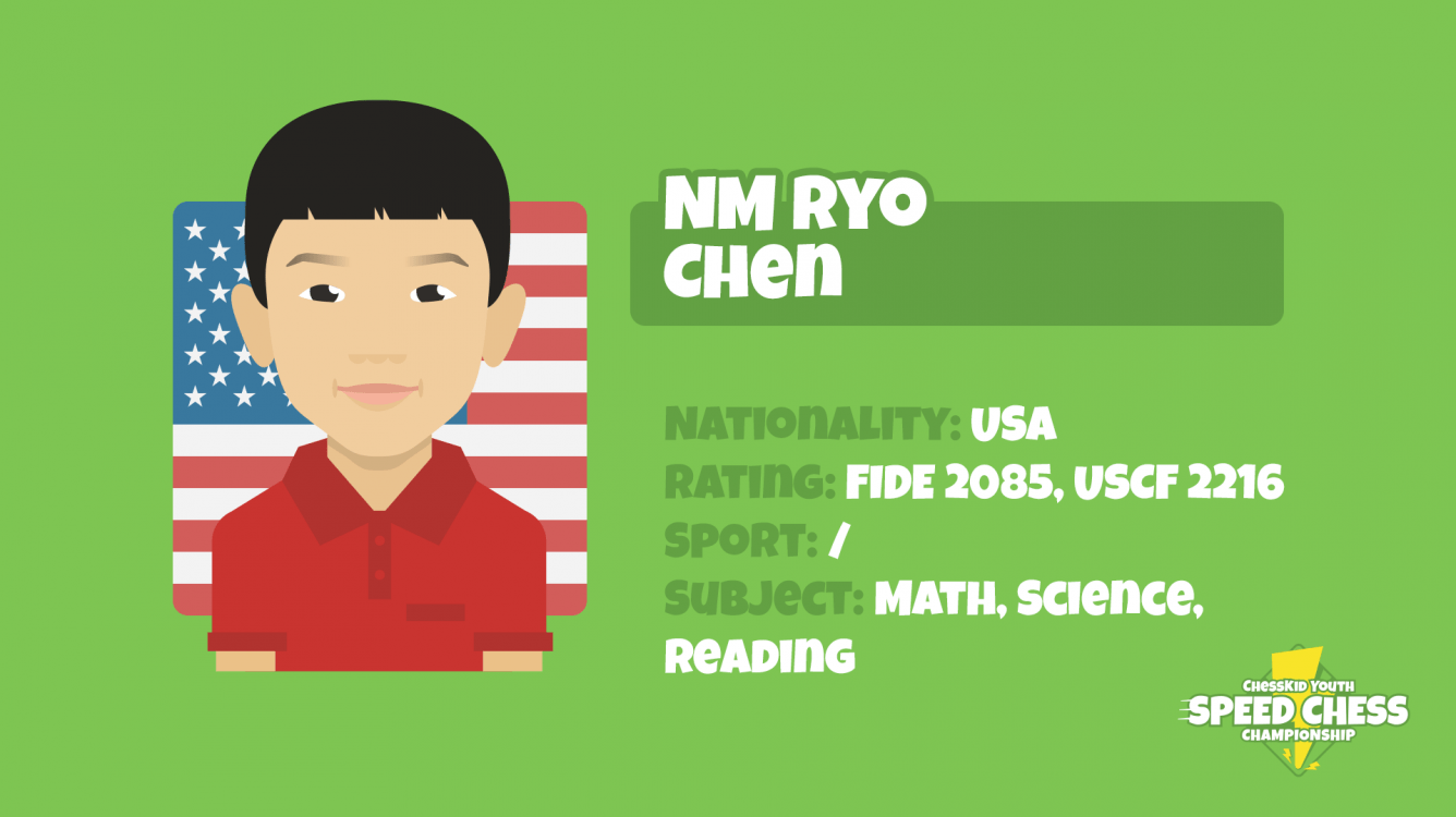 Ryo Chen Wins ChessKid Youth Speed Chess Championship