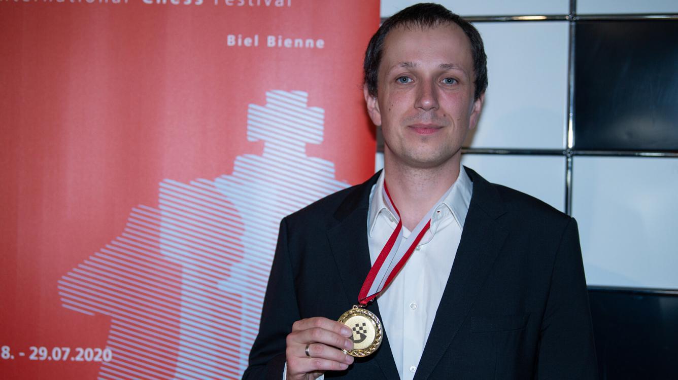 Wojtaszek Wins Biel, 1st Major OTB Tournament Since COVID-19 Lockdowns