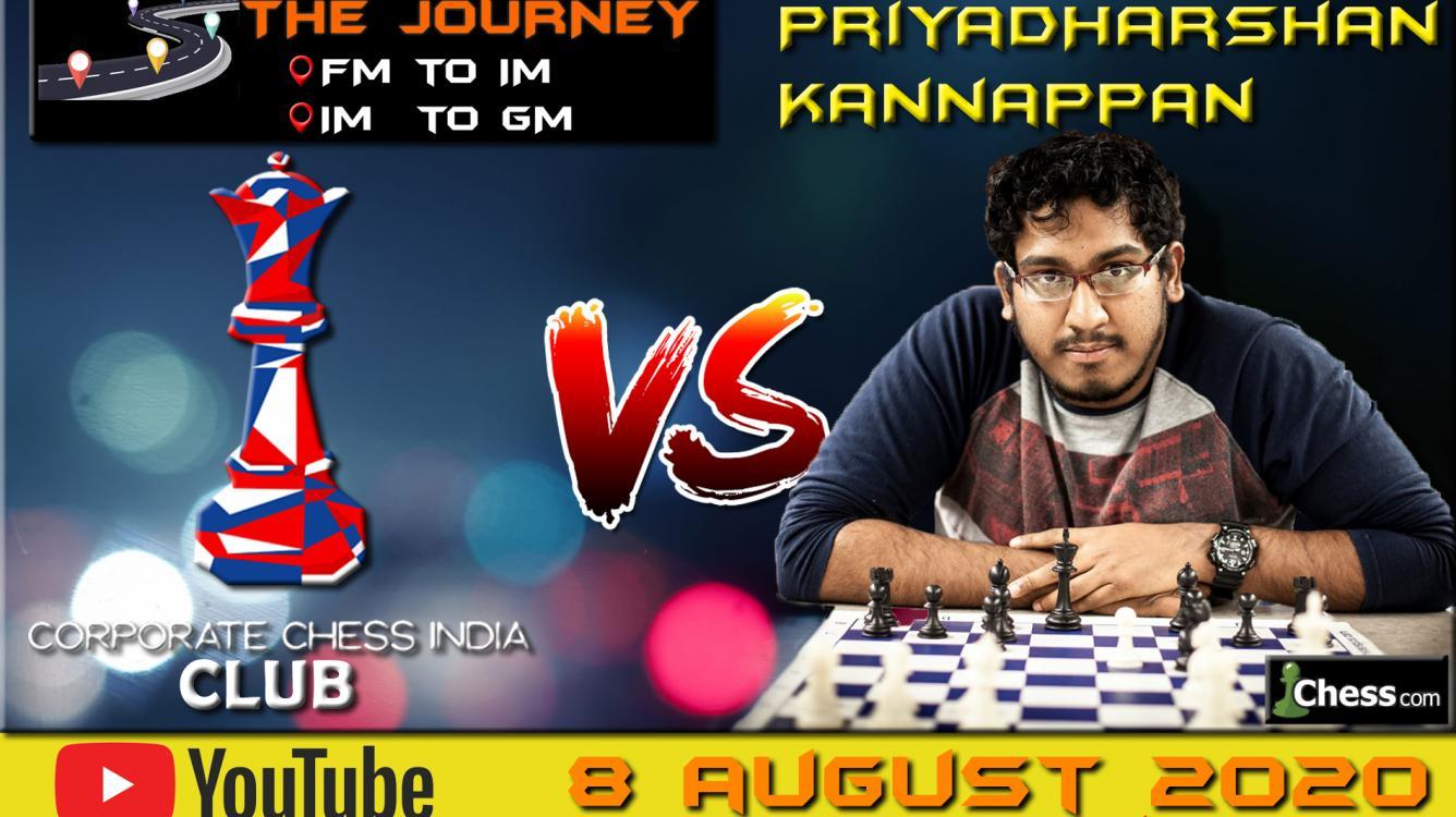 Chess Diaries with GM Priyadharshan K
