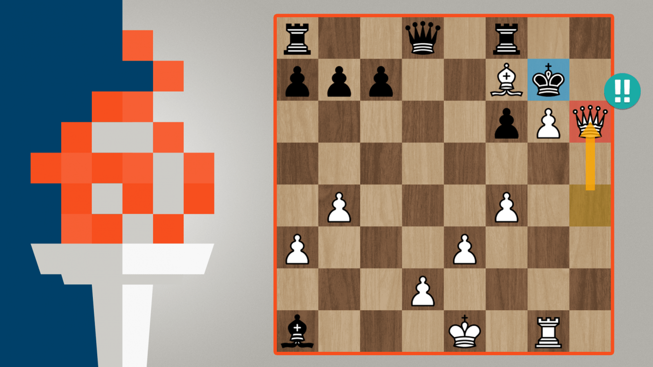 GM Zaibi Plays Brilliant Checkmate In Olympiad Division 3