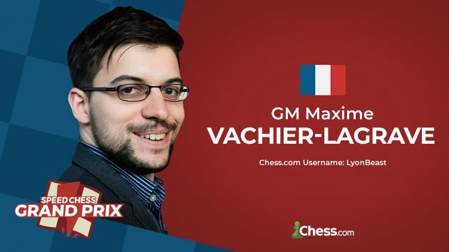 Vachier-Lagrave Wins 11th Speed Chess Championship Grand Prix