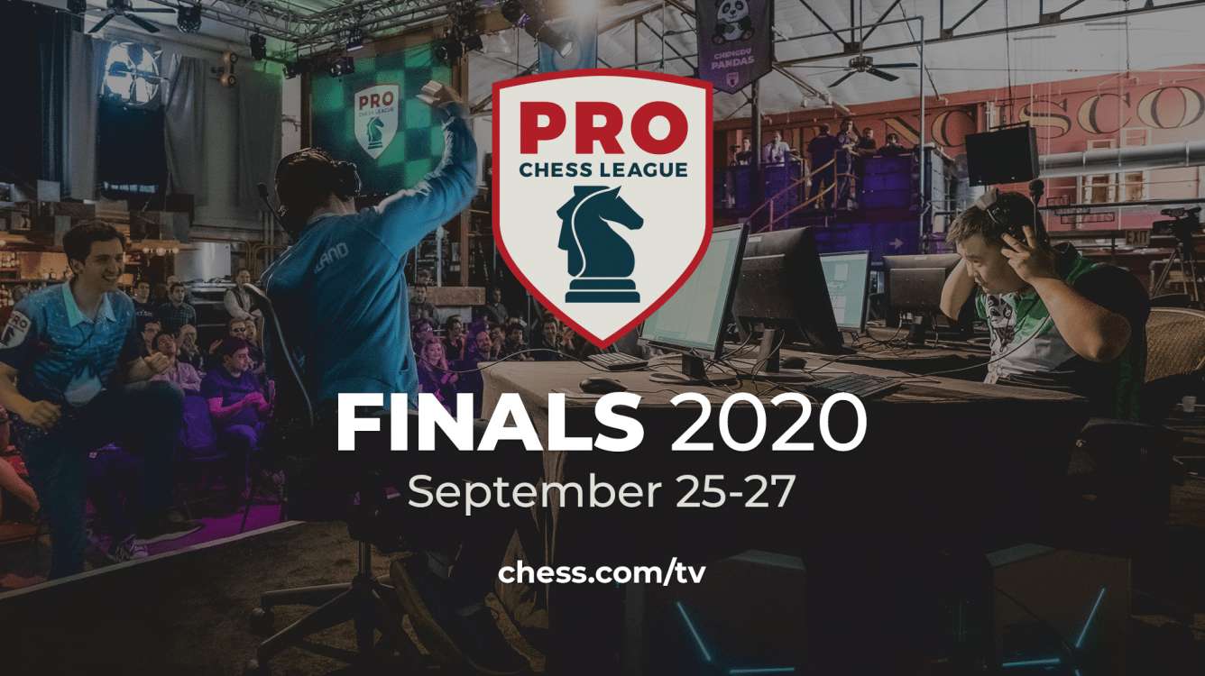 PRO Chess League Finals To Be Played Sept. 25-27