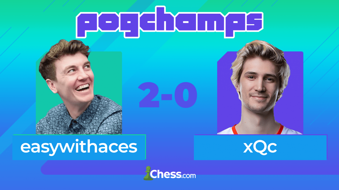 WagamamaTV Starts Strong, easywithaces Defeats PogChamps Veteran xQc
