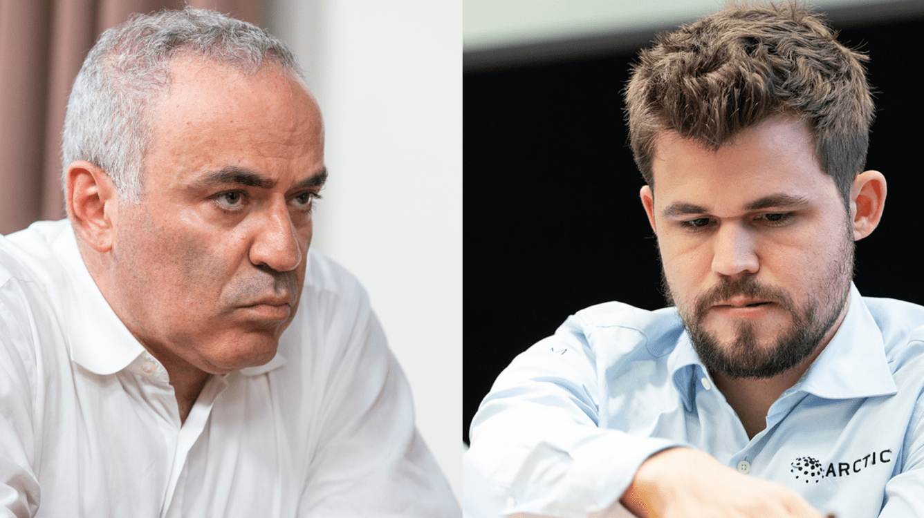 Carlsen, Kasparov Will Clash For The 1st Time In 16 Years