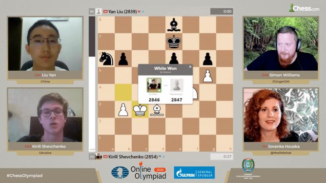 FIDE Online Olympiade: China und Deutschland scheiden aus