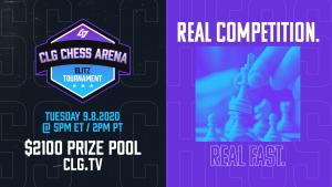 Chess.com Teams Up With CLG For First CLG Arena With $2,100 In Prizes